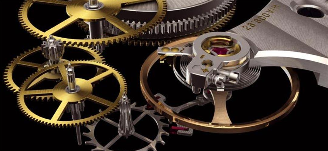 Gaand werk van een mechanisch horloge | Alles over Horloges