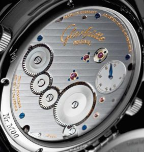 Glashütte strepen | Alles over Horloges