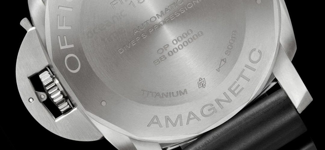 Antimagnetisch horloge