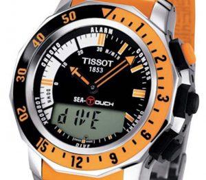 LCD scherm van horloge