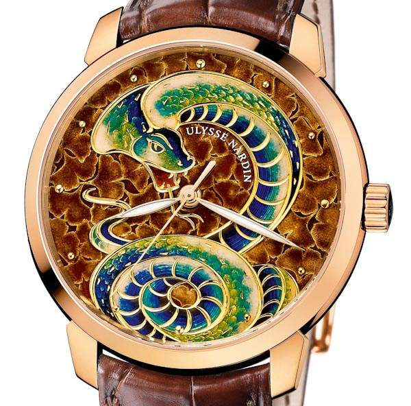 Ulysse Nardin Classico Serpent limited edition