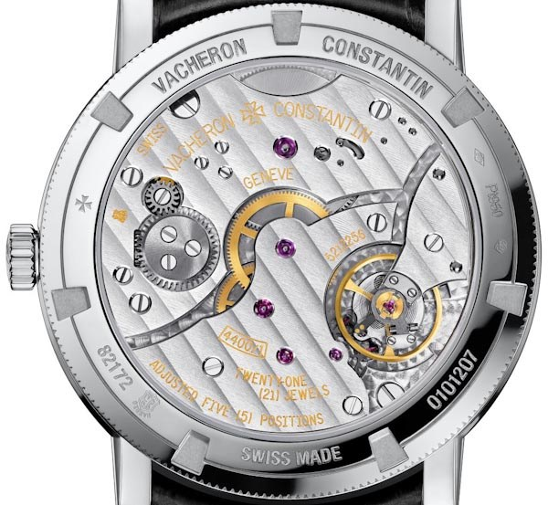 Vacheron Constantin Patrimony Traditionelle small seconds