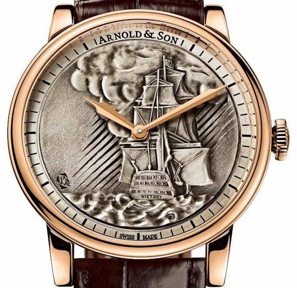 horloge Arnold & Son HMS Victory