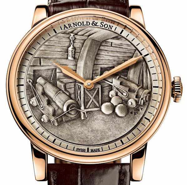horloge Arnold & Son HMS Victory Set