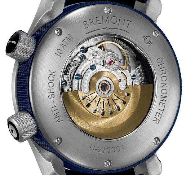 Bremont U-2 Blue Chronometer