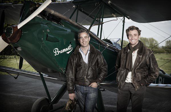 Nick en Giles Engels, oprichters Bremont   allesoverhorloges.nl