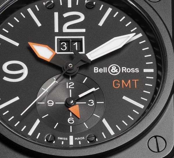 Bell & Ross Aviation BR 03-51 GMT Carbon