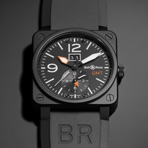 Bell & Ross Aviation BR 03-51-GMT Carbon