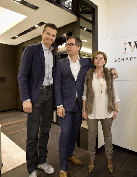 Martijn en Cécile van Willegen met Richard Krajicek | allesoverhorloges.nl