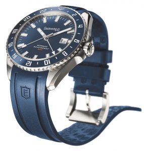 Eberhard Scafograf GMT | Alles over Horloges