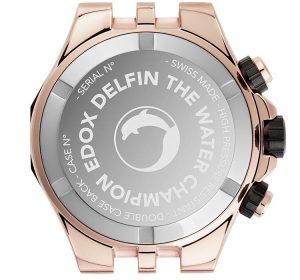 Edox Delfin The Original Chronograph Caseback