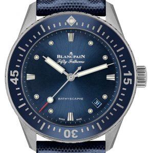 Blancpain Fifty Fathoms Bathyscaphe | Alles over Horloges