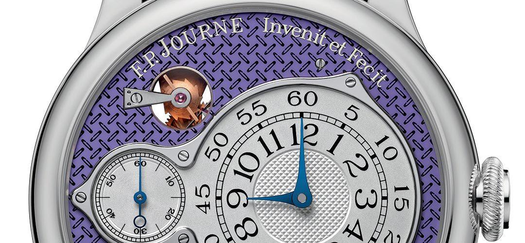 F.P. Journe ondersteunt Action Innocence met unieke Optimum Chronemètre