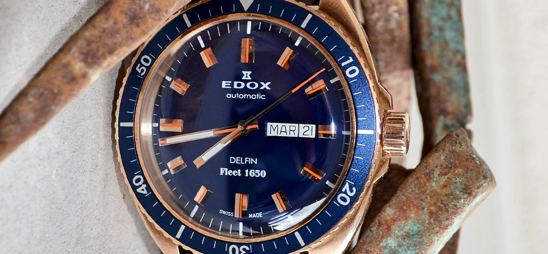 Edox Delfin Fleet 1650 limited edition | Alles over Horloges