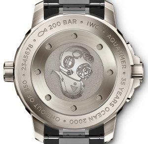 "IWC Aquatimer Automatic 2000 Edition ""35 Years Ocean 2000""   Alles over Horloges"