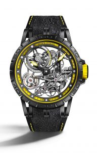 Roger Dubuis Excalibur Spider Pirelli Automatic Skeleton | Alles over Horloges