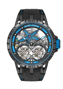 Roger Dubuis Excalibur Spider Pirelli Double Flying Tourbillon | Alles over Horloges