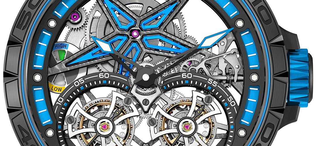 Roger Dubuis Excalibur Spider Pirelli Double Flying Tourbillon |Alles over Horloges