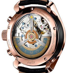 Bremont 1918 limited edition rosé goud | Alles over Horloges