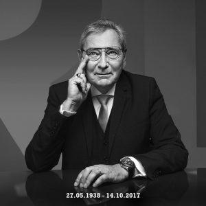 In memoriam Roger Dubuis