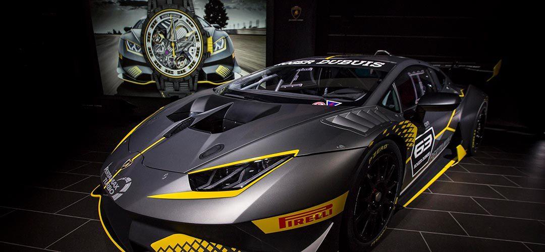Roger Dubuis + Lamborghini = Excalibur Aventador S