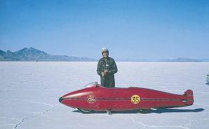 Burt Munro with the original shell | Alles over Horloges
