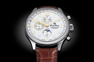 Ernst Benz Chronolunar Officer | Alles over Horloges