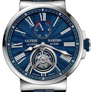 Ulysse Nardin Marine Blue Tourbillon | Alles over Horloges