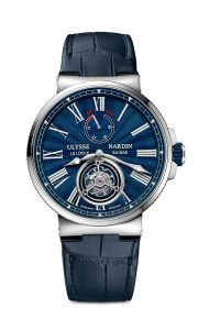 Ulysse Nardin Marine Blue Tourbillon | Alles over Horloges